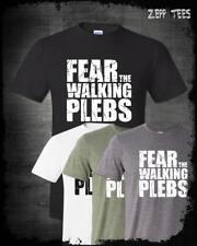 Fear The Walking Plebs T-Shirt Walking Dead Parody Funny TV Humor Kek Empire