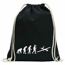 Drone Airplane Evolution Gym Bag Fun Backpack Sports Pouch Gymsack Ziehgurt