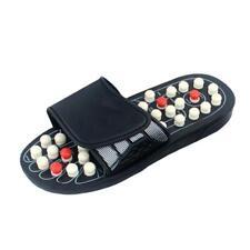 Reflexology Sandals Non-Slip Foot Massage Slippers for Women Men Elderly