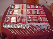 WMF ROM 90er argento placcato 18 Persone 180 pezzi Piatti+Dessert+Kuchen+Caffè+