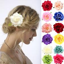 Enganche PELO ROSA Brosche Flores Pasador clip adorno para Cabello Muchos