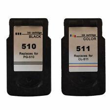 PG510 Black & CL511 Colour Ink Cartridges For Canon PIXMA MX340 Printer