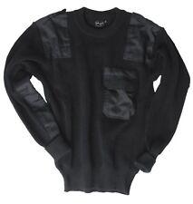 BW Pullover militare federale Pullover Nero