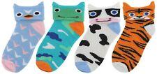 Rjm Animal Kids Diversión Novedad Calcetines de tobillo