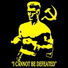 Rocky 4 Ivan Drago Homage T-Shirt Boxing T-Shirt XXXL XXXXL XXXXXL  Mens Large