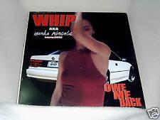 "Whip AKA Wanda Almonte feat Reverse Owe Me Back SS 12"""