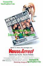 House Arrest: Jamie Lee Curtis: Bulldog Photo Print Ad!