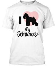 I Heart My Schnauzer T Hanes Tagless Tee T-Shirt