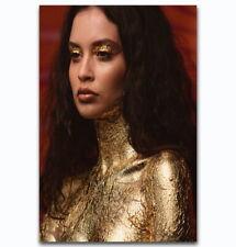60147 Sabrina Claudio Gold Beauty Music Star Wall Print Poster CA