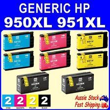 8x Generic Ink for HP950XL HP 951XL Officejet Pro 8100 8600 8600 Plus 950XL