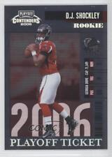 2006 Playoff Contenders Ticket #151 DJ Shockley Atlanta Falcons D.J. Rookie Card