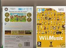 WII MUSIC Nintendo Wii MUSICHE famiglia Kids