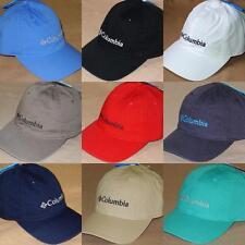 Columbia ROC Logo BallCap - Hiking Travel UPF50 Cotton Baseball Hat - NWT! 66f8a44adc70