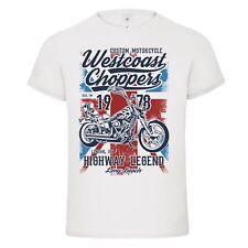 Westcoast Choppers Custom Officina Moto T-shirt maglietta mash-up DTG London