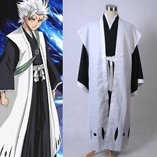 Bleach 10th Division Captain Toushiro Hitsugaya Kimono Cosplay Costume Halloween