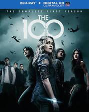 100 SEASON 1 (Blu-ray, 2014, 3-Disc Set.Digital Copy) NEW