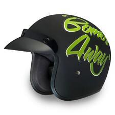 Daytona CRUISER W/ BOMBS AWAY DOT FMVSS 218 Bike Helmet Motorcycle Helmet DC6-BA