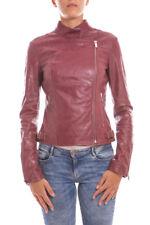 Giubbotto Giaccone Armani Jeans AJ Jacket -60% Donna Rosso B5B36VB-Cam-4U SALDI