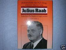 JULIUS RAAB ROBERT PRANTNER STAATSVERTRAGSKANZLER +