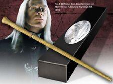 Harry Potter baguette magique LUCIUS MALFOY edition personnage + clip métal