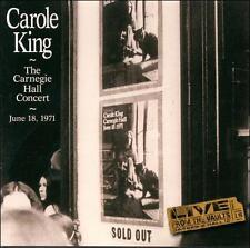 CAROLE KING - The Carnegie Hall Concert (1971) CD [K122]
