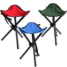 Mini Portable Outdoor Tri Folding Chair Stool Camping Fishing Picnic Small Seat