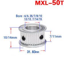 MXL Timing Belt Pulley 50 Teeth AF-type for 6mm 10mm Reprap Belt 3D Printer CNC