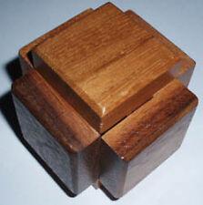 Interlock-3 wood brain teaser puzzle