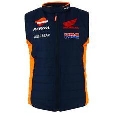 Repsol Honda MotoGP 2018 ufficiale della squadra da Uomo Gilet Gilet Imbottito Gilet Marquez