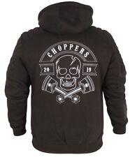 Chopper Zip Hoodie Sweatjacke Motorrad Biker Style Harley-Davidson Winter DE