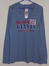 New York Giants hoodie sweatshirt women's xl lightweight long sleeve t shirt NWT