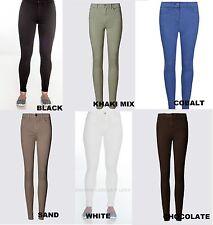 6fef8791414 Ex M S Jeggings Mid Rise Ladies Womens Stretchy Super Skinny Pants Leggings  ...