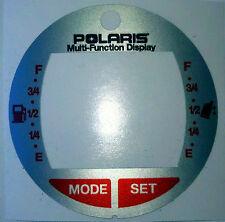 Round Style Polaris MFD Multi Function Display Gauge Decal SLH SLT