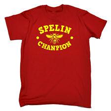 Spelin Champion MENS T SHIRT birthday fashion funny rude dyslexic naughty gift