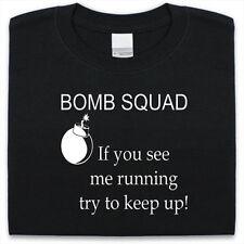 BOMB SQUAD T-Shirt Mens Womens Funny gift Present