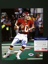 TRENT GREEN Signed 8x10 Photo Kansas City Chiefs PSA/DNA Certified Autograph