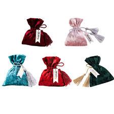 10pcs European Bundle Velvet Bag Creative Candy Gift Bag Wedding Party Supplies
