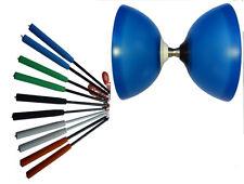 Henrys Vision Free Diabolo Blau mit Kugellager/Freilauf + Henys Carbonstäbe 350