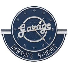 """Personalized Garage 12"""" Indoor/Outdoor Wall Clock"""