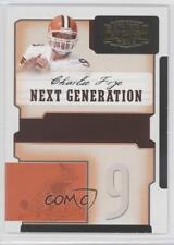 2006 Donruss Gridiron Gear Next Generation Gold #NG-5 Charlie Frye Football Card