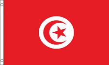 Tunisia Flag Choice Polyester 5x3' 3x2',Hand Flag,Table Flag.Free P&P