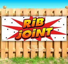 New listing Rib Joint Advertising Vinyl Banner Flag Sign Many Sizes Usa