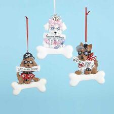 Dogs w/Attitudes Ornaments