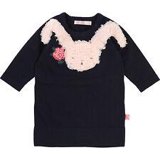 Billieblush Baby Kleid Strickkleid Hase blau Hase weich 68 74 80 86 92  NEU