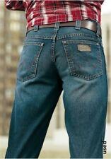 Wrangler Texas Jeans W32 L36 NEU Herren Straight Fit Hose Used Stone Blau Denim