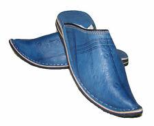 Babouche Marocaine cuir cousues b2 chaussure chausson sandale mule pentoufle