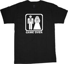Funny bride and groom t-shirt wedding dress tuxedo engagement gift idea