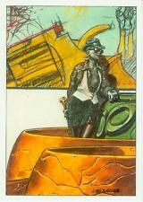 Gaetano Liberatore Postcard: graffiti (France, 1985)