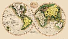Old World Map - Carey 1795 - 23 x 39.99