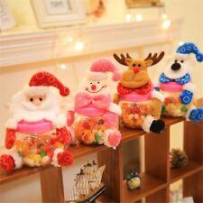 Kinder Weihnachtsgeschenke Weihnachtsmann Weihnachtstaschen Glas Zuckerdose